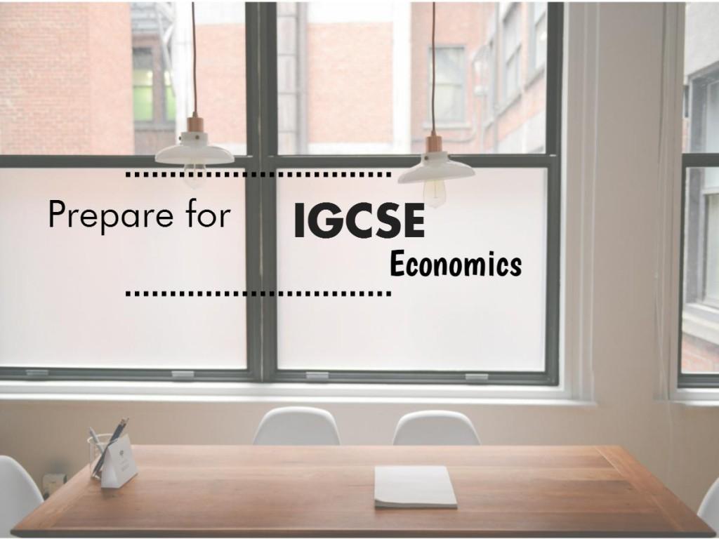 IGCSE-Economics