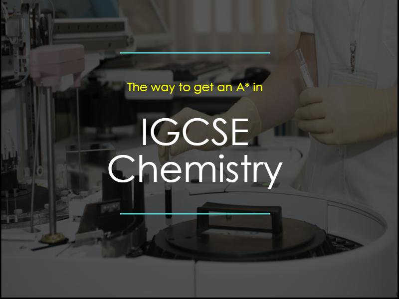 เจาะลึกเนื้อหาการติว IGCSE Chemistry