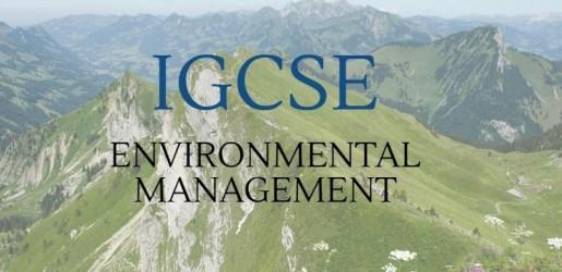 igcse-environment